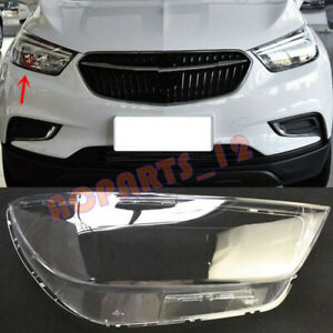 Right Side Headlight Cover Transparent PC With Glue For Buick Encore 2016~2018