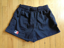 """Godek/USA Rugby Cotton Shorts, 3.5"""" Inseam, Black, Small"""