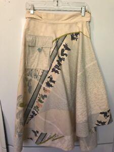 Eco Meets Retro Wrap Skirt One Size    #1