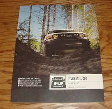 Original 2008 Toyota FJ Cruiser Deluxe Sales Brochure 08 Issue 4 Fall