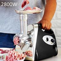 2800W Electric Meat Grinder Sausage Maker Home Kitchen Food Processors black uk