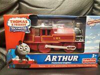 🔥 Thomas & Friends • Arthur • Motorized Engine Train • Trackmaster 2009 • New