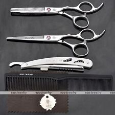 Pro Salon Hair Cutting/Thinning Scissors Hairdressing Comb Razor Barbers Kits