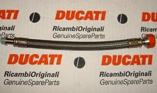 2001 Ducati 996R 54910171B engine to oil cooler radiator special hose tube