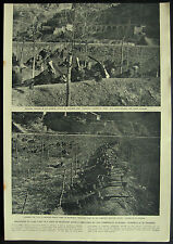 Chinese Communists Training Guerrillas Korea 1951 Magazine Page Article