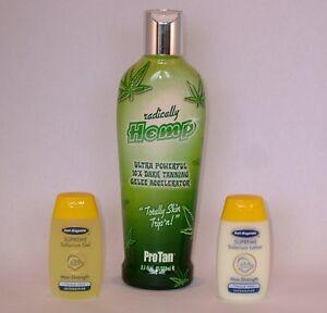 Pro Tan Radically Hemp Sunbed Tanning Lotion