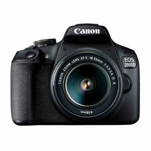 CANON EOS 2000D 18-55 IS + Borsa e scheda Memoria - Display 3'' - Video FULLHD