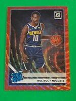 2019-20 Optic Tmall BOL BOL Rc Red Wave Prizm China Exclusive SP  NUGGETS #162