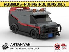 Lego MOC | A-Team Van | Custom Model | PDF Instructions (NO BRICKS)