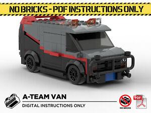 Lego MOC   A-Team Van   Custom Model   PDF Instructions (NO BRICKS)