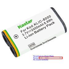 Kastar Replacement Battery for Kodak KLIC-8000 & Kodak Z1485 IS Kodak Z612 IS