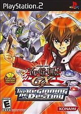 Yu-Gi-Oh GX: The Beginning of Destiny (Sony PlayStation 2, 2008)complete