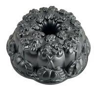 "Nordic Ware Violet Flower Bundt Cake Pan Bakeware 10"" Diameter Made In USA"