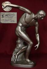 RARE Soviet Russian DISKOBOLUS sculpture statue figurine olympic sport bust USSR