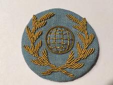 UTA AIRLINES AIR FRANCE STEWARDESS FLIGHT ATTENDANT UNIFORM HAT BADGE WING 1960s