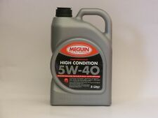 4,23€/l Meguin Megol High Condition 5W-40 5 L Motoröl