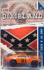 "Hot Wheels A MEDIDA DODGE CHARGER ""Dixieland"" Real Riders 1/1 Made"