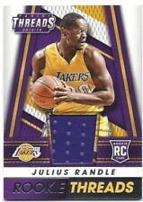 2014-2015 Panini Threads Basketball Rookie Threads Card - Julius Randle