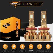 AUXBEAM H8 H9 H11 70W LED Headlight Bulbs Conversion Kit 6000K Hi/Lo Fog Lamp