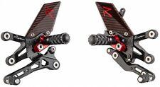 Suzuki GSX-S1000 GSXS1000 LighTech ELITE R Series Adjustable Rearsets Rear Sets