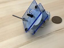 1 Piece BLUE light J205 310 3v 6V DC Dual Shaft Car Toy Reduced Gear Motor c29