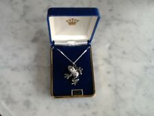 New Frog Silver Pewter Charm Necklace Pendant Jewelry Gift Box