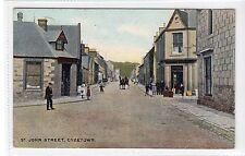 More details for st. john street, creetown: kirkcudbrightshire postcard (c16803)
