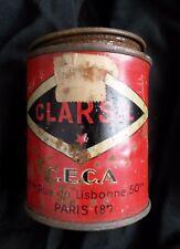 Boite ancienne Clarsil CECA tin box