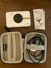 Polaroid Snap Digital Instant Camera 10MP White Printer Built-In Plus Extras
