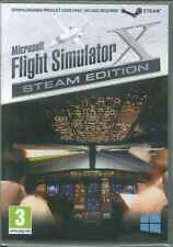 Microsoft Flight Simulator X Deluxe & Acceleration FSX Steam Edition PC Sim Game