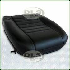Black Vinyl Outer Complete Seat Base Cushion - Land Rover Defender (MWC4535)