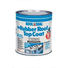 Kool Seal RV Roof Coating Motorhome Roof Top Rubber Paint Coat Trailer (1-Quart)