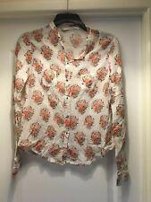 Nougat London floral 100% Cotton blouse /Shirt US size 2 UK Size 6