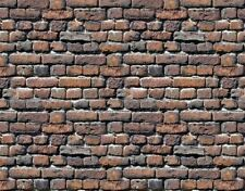 @ 9 Sheets Embossed Bumpy Brick stone wall 21x29cm G Scale 1/24 Code 401G
