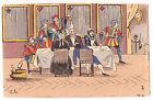 LOT 3 CPA illustrateur CARTES A JOUERS n° 3, 4, 5 - VALET - REPAS - RIXE 1905