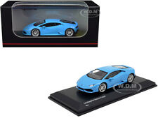 Lamborghini Huracan Coupe Light Blue 1/64 Diecast Model Car by Kyosho KS07045AA1