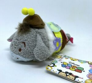 "Disney Store Tsum Mini Plush 3.5"" JAPAN 2016 Bee Collection Eeyore 💕 US SELLER"