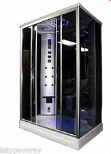 Two person Steam Shower Cabin,Massage,AromatherapyTermostet.6 Year US Warranty