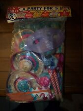 NOS Party Favors A PARTY FOR 5 by GAYRON made in Japan 1960's