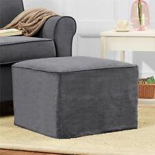 Baby Relax Mackenzie Ottoman - Gray Gray Da6275O-G Kids Furniture New