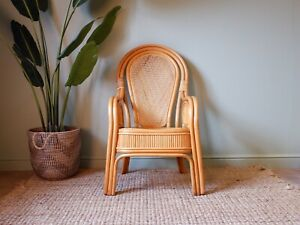 High Back Wicker Chair For Sale Ebay