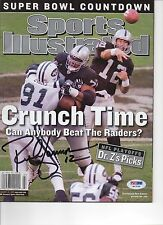Rich Gannon Oakland Raiders Signed Magazine Photo PSA