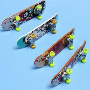 4 X Finger Skateboard Fingerboard Skate Board Kids Table Deck Mini Plastic Toy