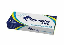 """WRAPMASTER 4500 (18"""") FOIL 3 ROLLS OF 90MTR"""