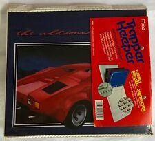 "Vintage 80s New Unused Trapper Keeper ""The Ultimate� Lamborghini original Label"