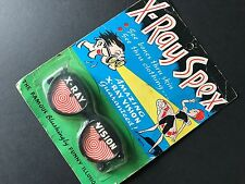 Rare, Vintage 1965 X-RAY SPEX Amazing X-Ray Vision Novelty Glasses / Honey Toys