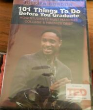 101 Things To Do Before You Graduate DVD! Jullien Gordon! New! As seen on TED!