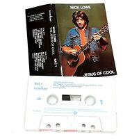 NICK LOWE JESUS OF COOL 1978 CASSETTE TAPE ALBUM ROCK POP