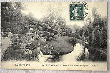 """CPA """" RENNES - Le Thabor - Les Ponts Rustiques"""