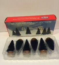 Liberty Falls Americana Collection Ah49 Six Miniature Trees Accessory Set